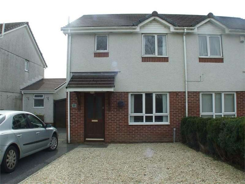 3 Bedrooms Semi Detached House for sale in Clos Cenawon, Cwmrhydyceirw, SWANSEA, SA6