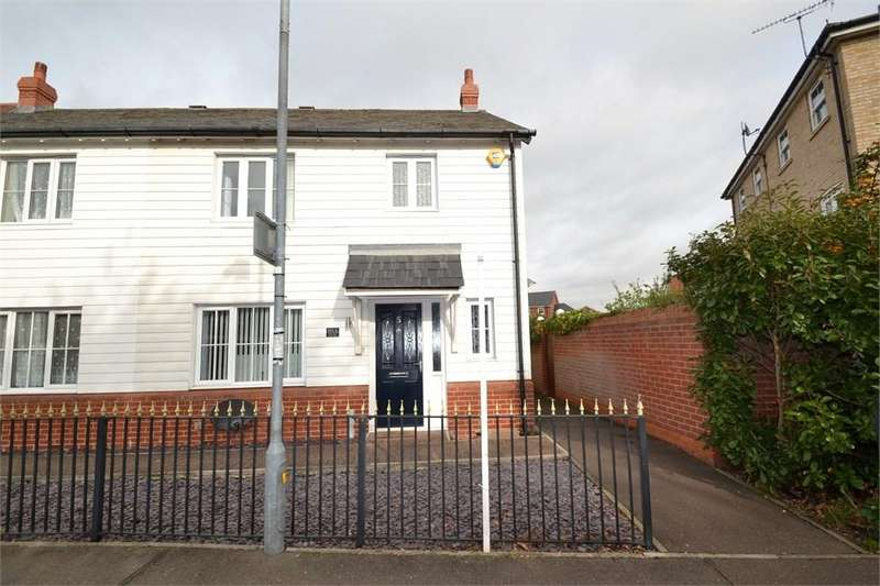 3 Bedrooms End Of Terrace House for sale in Marsh Crescent, Rowhedge, Colchester, CO5