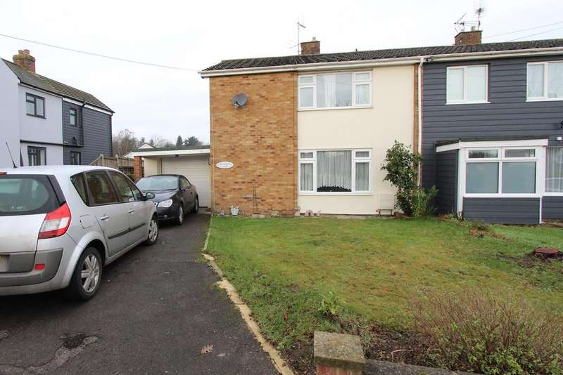 3 Bedrooms Semi Detached House for sale in High Road, Layer-de-la-Haye, COLCHESTER, CO2