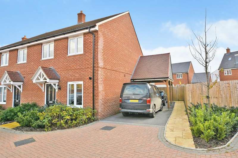 3 Bedrooms Semi Detached House for sale in Dorset Crescent, Kingsnorth, Ashford