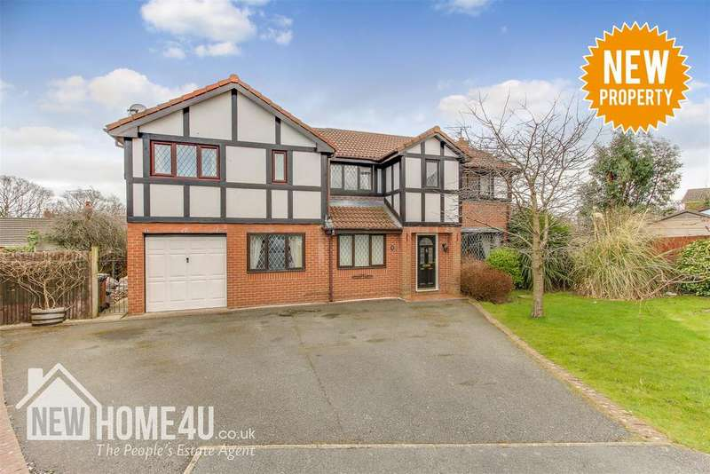 5 Bedrooms Detached House for sale in Gardd Eithin, Northop Hall, Mold