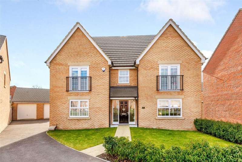 4 Bedrooms Detached House for sale in Spinney Close, Moulton, Northampton, Northamptonshire, NN3