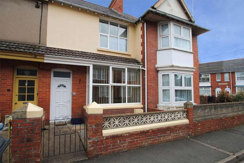 3 Bedrooms Terraced House for sale in Carlyle Avenue, Barnstaple