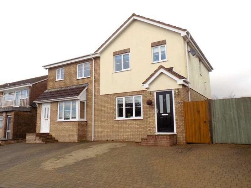 3 Bedrooms Semi Detached House for sale in Langstone Drive, Exmouth