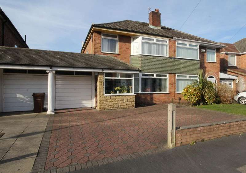 3 Bedrooms Semi Detached House for sale in Windermere Drive