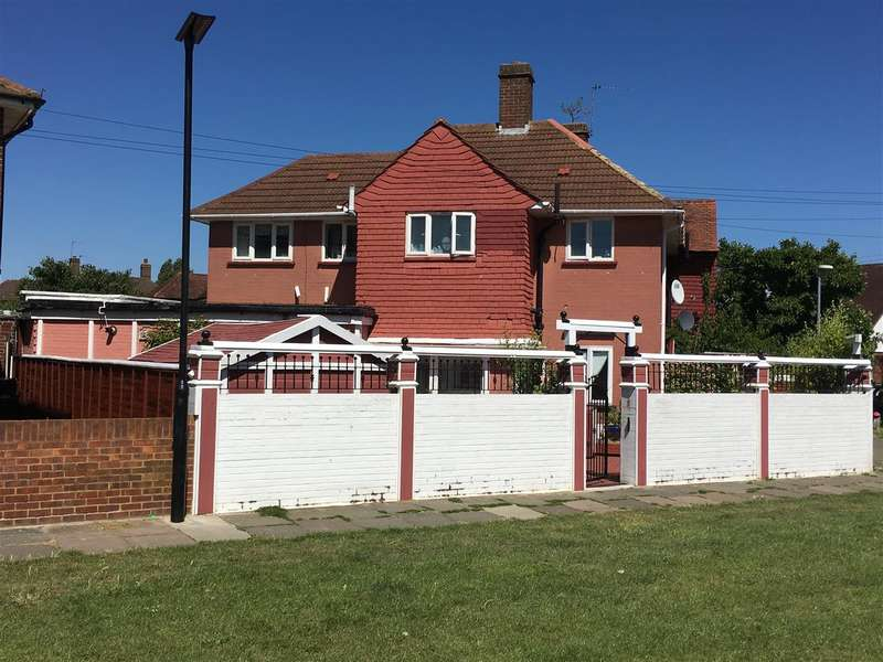 4 Bedrooms Semi Detached House for sale in Bridleway Path,, Feltham