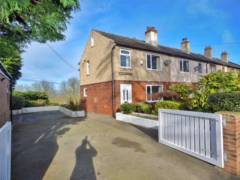 3 Bedrooms End Of Terrace House for sale in Dartmouth Terrace, Farnley Tyas, Huddersfield, West Yorkshire, HD4