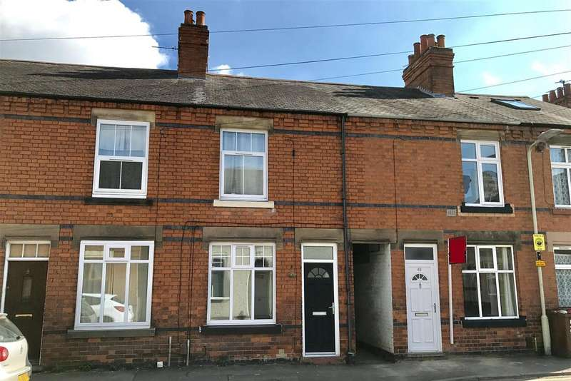 2 Bedrooms Terraced House for sale in Rosebery Avenue, Melton Mowbray