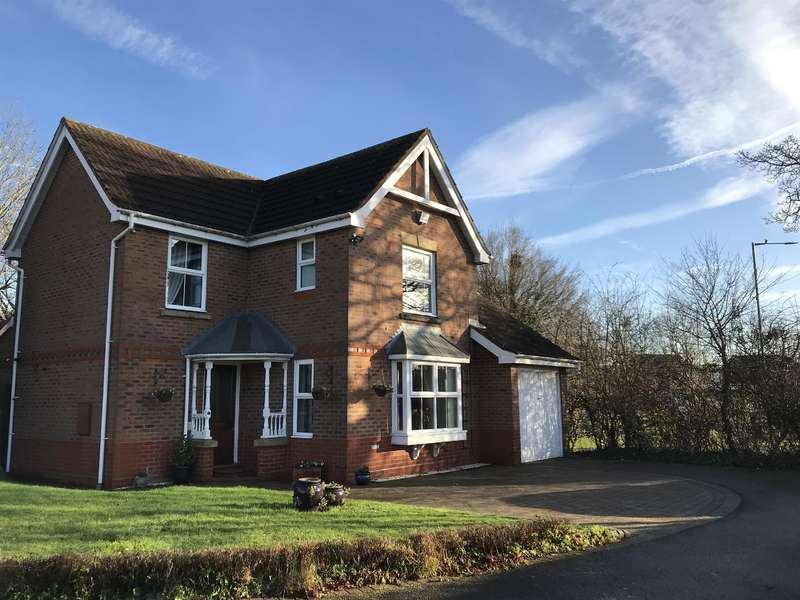 3 Bedrooms Detached House for sale in Bufferys Close, Solihull, B91 3UX