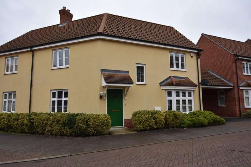 3 Bedrooms Semi Detached House for sale in Juniper Road, Bury St. Edmunds