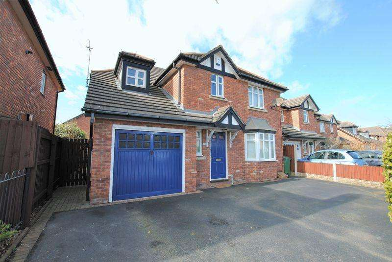 4 Bedrooms Detached House for sale in Reeds Lane, Moreton