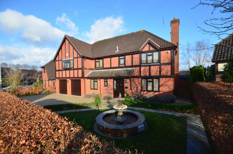 5 Bedrooms Detached House for sale in Padgate, Thorpe End