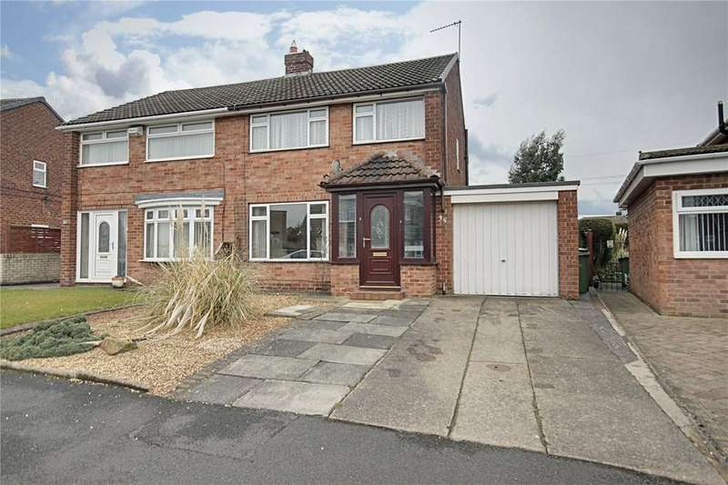 3 Bedrooms Semi Detached House for sale in Mayfield Crescent, Eaglescliffe