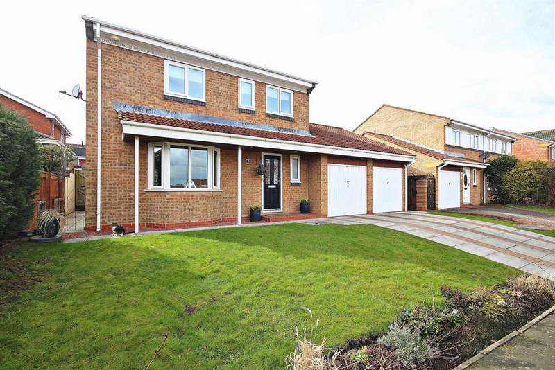 4 Bedrooms Detached House for sale in Lesbury Close, Chester Le Street