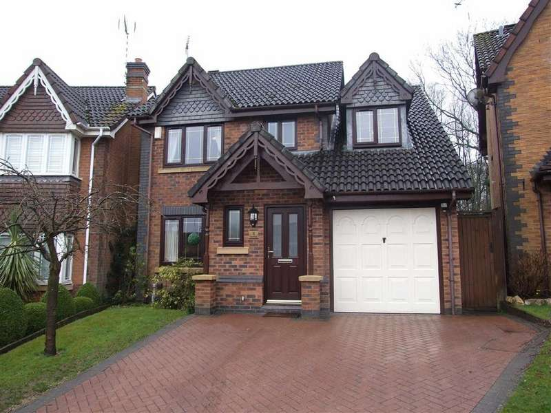 4 Bedrooms Detached House for sale in The Pines, Bedworth, Warwickshire