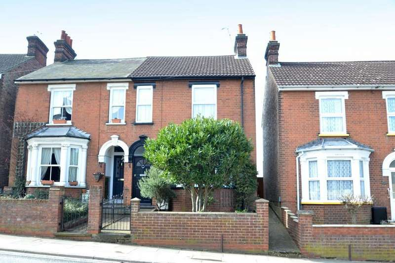 3 Bedrooms Semi Detached House for sale in Grove Lane, Ipswich, IP4 1NY