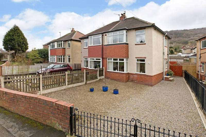 3 Bedrooms Semi Detached House for sale in Inglewood Estate, Otley