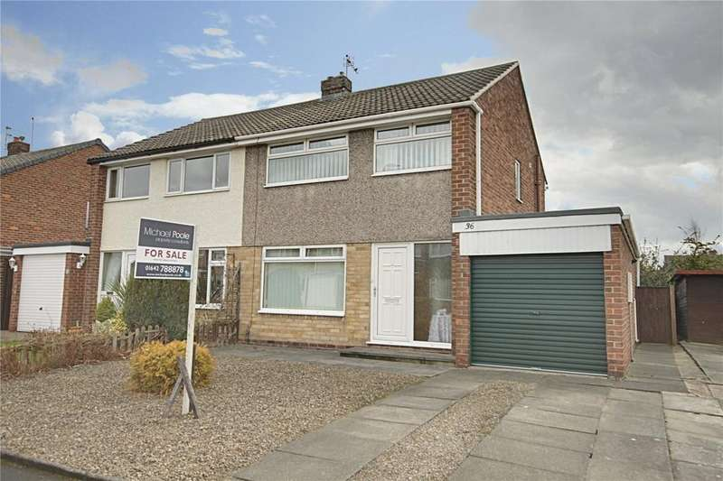 3 Bedrooms Semi Detached House for sale in Emsworth Drive, Eaglescliffe