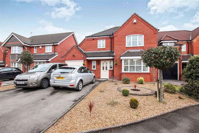 4 Bedrooms Detached House for sale in Woodrow Way, Chesterton, Newcastle, Staffs
