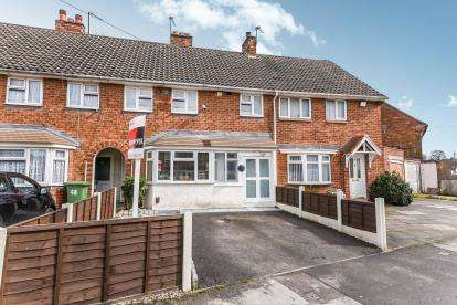 3 Bedrooms Terraced House for sale in Glastonbury Crescent, Bloxwich, Walsall, West Midlands
