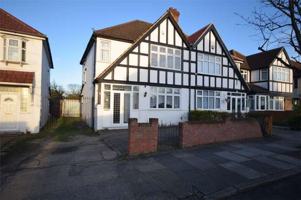 3 Bedrooms Semi Detached House for sale in Nathans Road, WEMBLEY, Middlesex