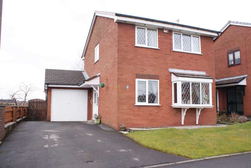 3 Bedrooms Detached House for sale in Everleigh Close, Harwood