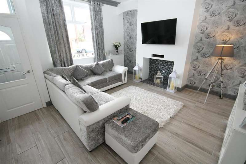 2 Bedrooms Terraced House for sale in Harper Green Road, Farnworth, Bolton, BL4 0DL