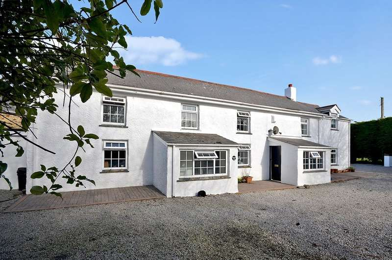 7 Bedrooms Farm House Character Property for sale in Mithian Downs, St. Agnes