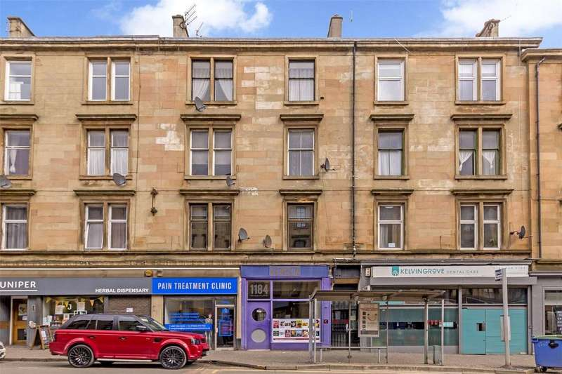2 Bedrooms Flat for sale in Flat 1/2, 1182 Argyle Street, Finnieston, Glasgow, G3