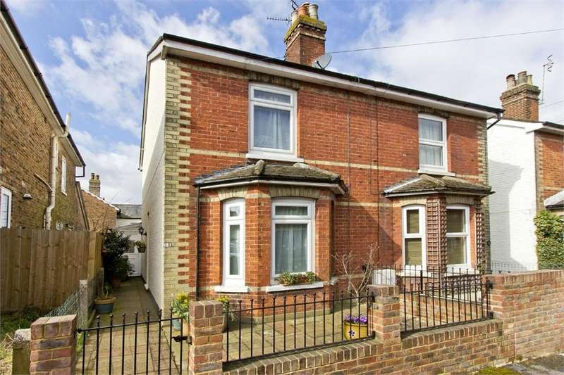 2 Bedrooms Semi Detached House for sale in Norton Road, Southborough, Tunbridge Wells, Kent
