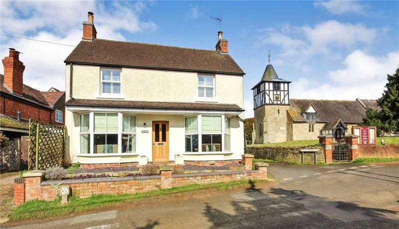 3 Bedrooms Detached House for sale in Harpley Road, Defford, Worcester, Worcestershire, WR8