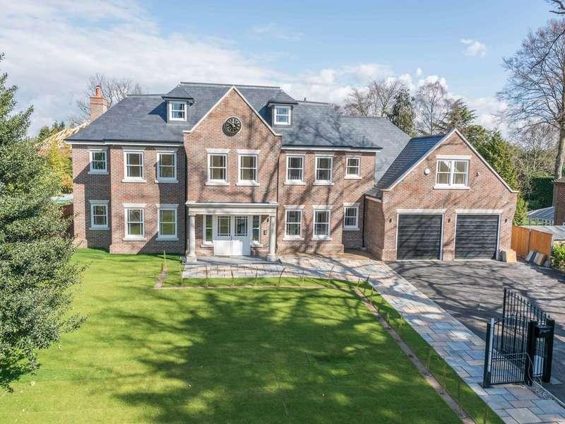 6 Bedrooms Detached House for sale in Beechwood Avenue, Weybridge KT13