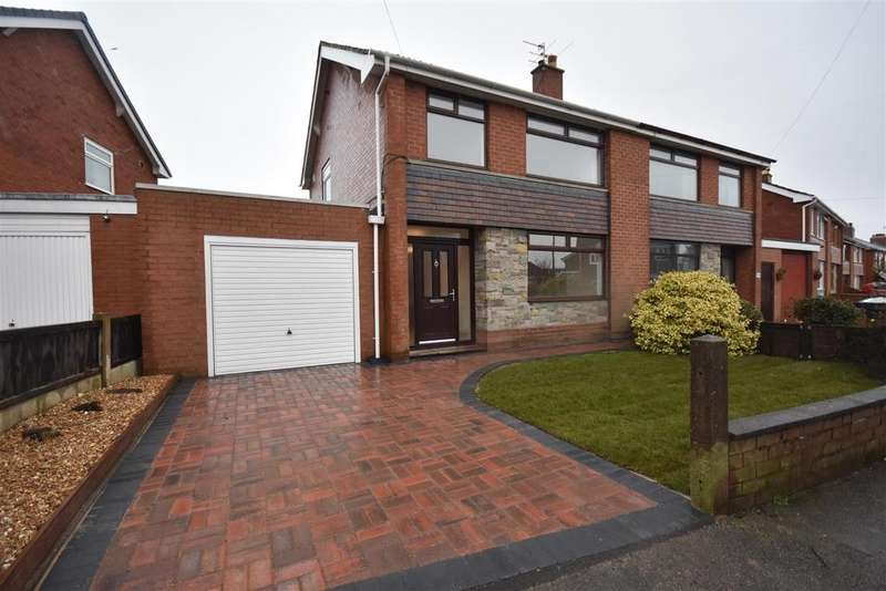 3 Bedrooms Semi Detached House for sale in Sagar Street, Eccleston, Chorley