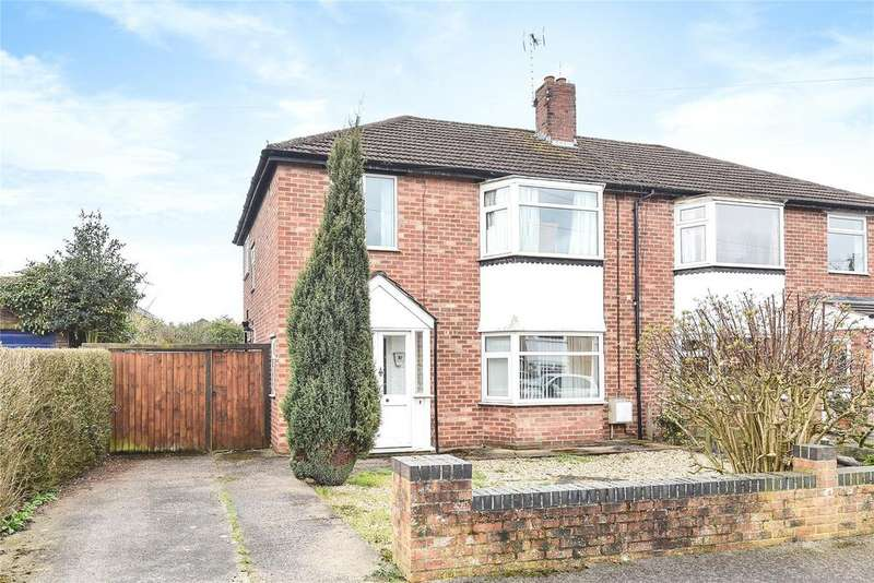 3 Bedrooms Semi Detached House for sale in Gregg Hall Crescent, Lincoln, LN6