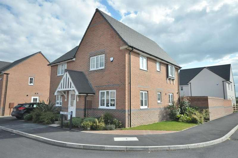 4 Bedrooms Detached House for sale in Cover Drive, Bottesford, Nottingham