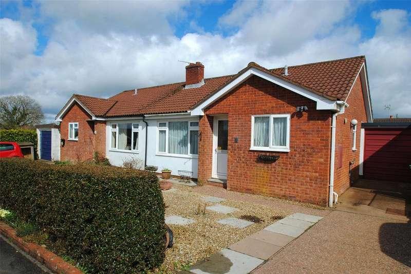 2 Bedrooms Semi Detached Bungalow for sale in Greenslade Road, Witheridge