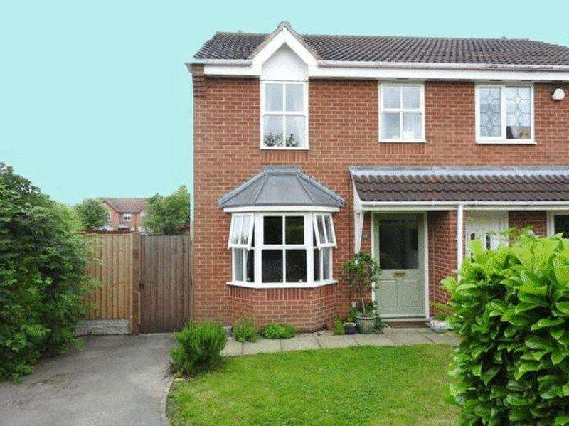 2 Bedrooms Semi Detached House for sale in PULBOROUGH GARDENS, LITTLEOVER.