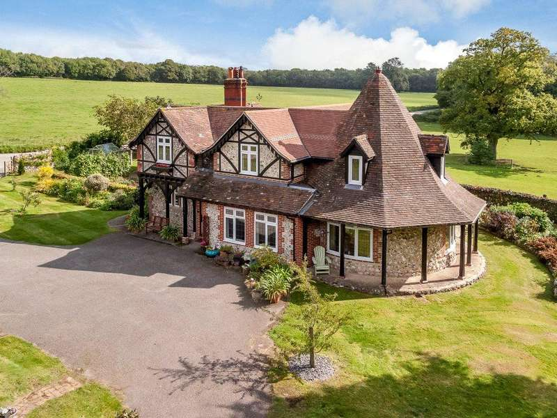 4 Bedrooms Detached House for sale in Northend, Findon, West Sussex