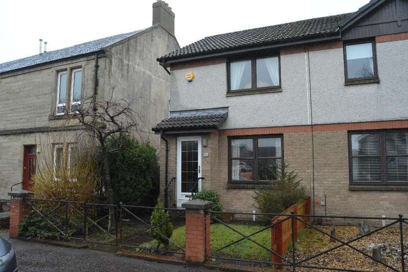 2 Bedrooms Semi Detached House for sale in Main Street, Carronshore, Falkirk, FK2 8EX