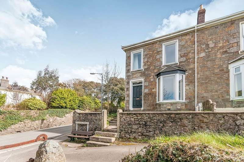4 Bedrooms Semi Detached House for sale in Pendower Terrace, Camborne, TR14