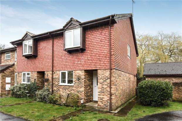 2 Bedrooms End Of Terrace House for sale in Netherhouse Moor, Church Crookham, Fleet