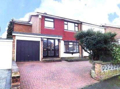 4 Bedrooms Semi Detached House for sale in Collier Row, Romford