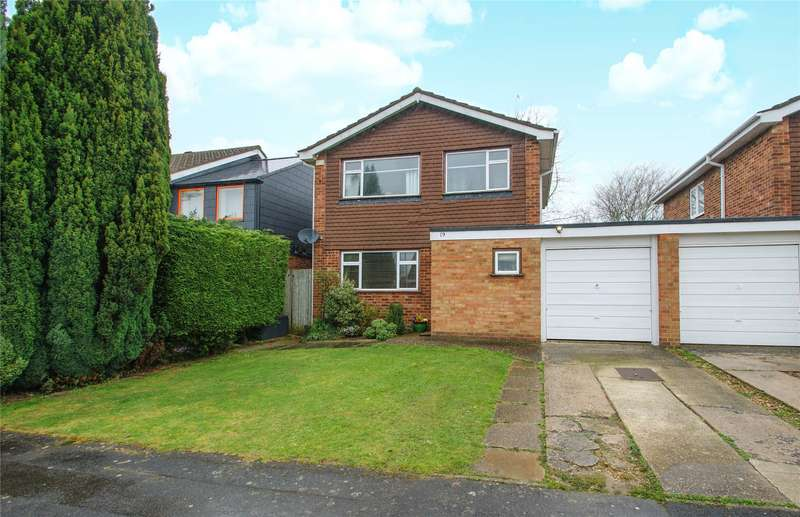 3 Bedrooms Link Detached House for sale in Woodrow Drive, Wokingham, Berkshire, RG40