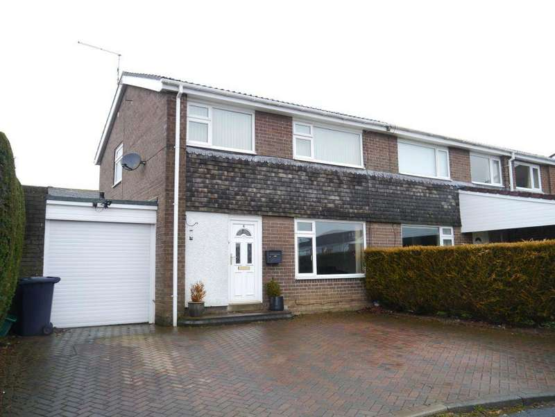 3 Bedrooms Semi Detached House for sale in Twizell Place, Ponteland