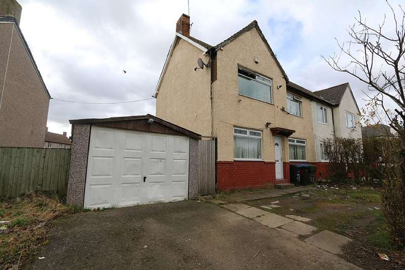 3 Bedrooms Semi Detached House for sale in Marton Grove Road, Middlesbrough, London, TS4 2SE