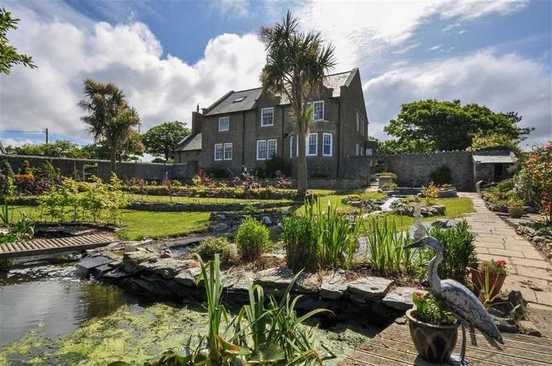 Detached House for sale in Llanfwrog, Holyhead