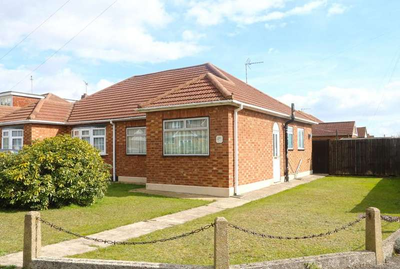 2 Bedrooms Semi Detached Bungalow for sale in Prestwood Close, Thundersley, SS7