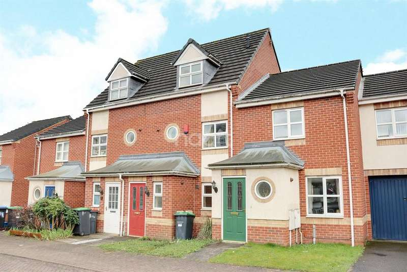 4 Bedrooms Terraced House for sale in Voce Gardens, Hucknall