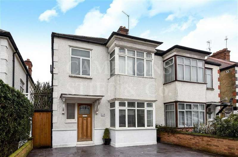 3 Bedrooms Semi Detached House for sale in Hanover Road, Kensal Rise, London, NW10