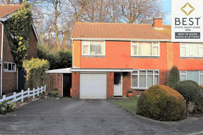 3 Bedrooms Semi Detached House for sale in Deerleap Close, Hythe, Southampton